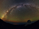 The Milky Way from the Roque De Los Muchachos Observatory