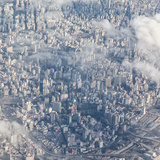 An Aerial View of Sao Paulo  Brazil