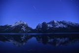Jenny Lake in Early Morning Light