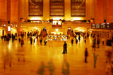 Main Concours in Grand Central Terminal  Manhattan  New York Cit