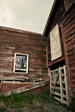 Rustic Red Barn Walls