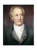 Portrait of Goethe