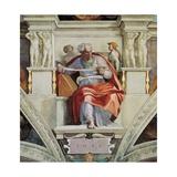 Sistine Chapel Ceiling  Prophet Joel