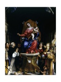 Altarpiece of Saint Bartholomew Church (Saints Adoring Madonna and Child)