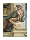Sistine Chapel Ceiling  Male Nude