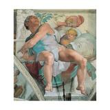 Sistine Chapel Ceiling  Prophet Jonah