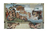 Sistine Chapel Ceiling  the Flood and Noah's Ark