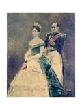 Jerome Bonaparte and His Daughter Matilda