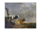 Two Cows  after Paulus Potter  1652