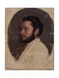 Profile Portrait of a Bearded Man with a Beard
