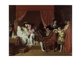 Francis I Collects the Last Breath of Leonardo Da Vinci