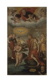 Baptism of Christ with Donor