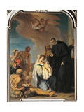 Saint Maurus Heals a Child