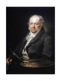 Portrait of Francisco Goya