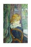 Woman Sitting in a Garden