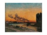 Sunset in Ivry