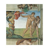 Sistine Chapel Ceiling  Adam and Eve Expelled from Eden