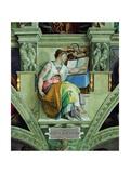 Sistine Chapel Ceiling  Erythraean Sibyl