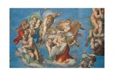 Sistine Chapel  the Last Judgment Angels Announce Doomsday