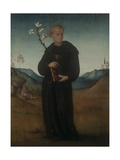 St Nicholas of to lentino (Holding Lily)