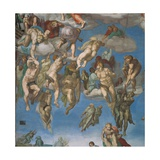 Sistine Chapel  the Last Judgment  Saved Souls
