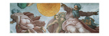 Sistine Chapel Ceiling  God Creating Sun and Moon