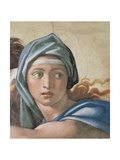 Sistine Chapel Ceiling  Delphic Sibyl's Face