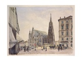 Saint Stephen's Cathedral in Vienna  1832