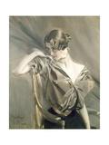 Cleo De Merode  Famous Dancer at the Opera in Paris