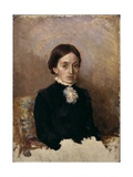Woman in Black Clothes