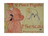 Place Pigalle (Advertisement for Photographer Paul Sescau)