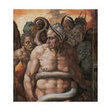 Sistine Chapel  the Last Judgment Minos  Judge of Hell