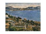 L'Estaque  View of the Bay of Marseille  1878-1879
