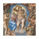 Sistine Chapel  Christ of the Last Judgment