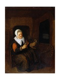 Woman with a Wool-Winder
