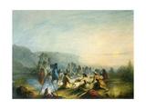 American Indians at Sunrise Breakfast