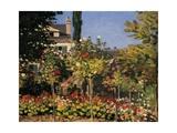 Flowering Garden in Sainte-Adresse