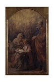 Holy Family (Mary Teaching Jesus to Read)