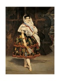 Lola from Valencia (Spanish Dancer)  1862