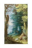 Wooded Landscape with St John the Baptist