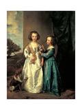 Sisters Elizabeth and Philadelphia Wharton