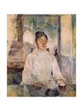 Countess Adele De Toulouse-Lautrec at Breakfast