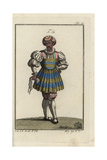 Man of Fashion in Venice and Other Italian Towns  16th Century