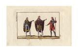 Anglo Saxon Men in Mantles