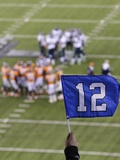 NFL Super Bowl 2014: Feb 2  2014 - Broncos vs Seahawks - 12th Man at Super Bowl XLVIII