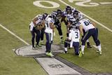 NFL Super Bowl 2014: Feb 2  2014 - Broncos vs Seahawks - Russell Wilson  Marshawn Lynch
