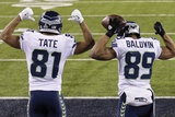 NFL Super Bowl 2014: Feb 2  2014 - Broncos vs Seahawks - Golden Tate  Doug Baldwin
