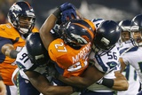 NFL Super Bowl 2014: Feb 2  2014 - Broncos vs Seahawks - Knowshon Moreno