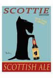 Scottie Scottish Ale Reproduction pour collectionneurs par Ken Bailey