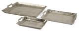 Angelina Aluminum Tray Set